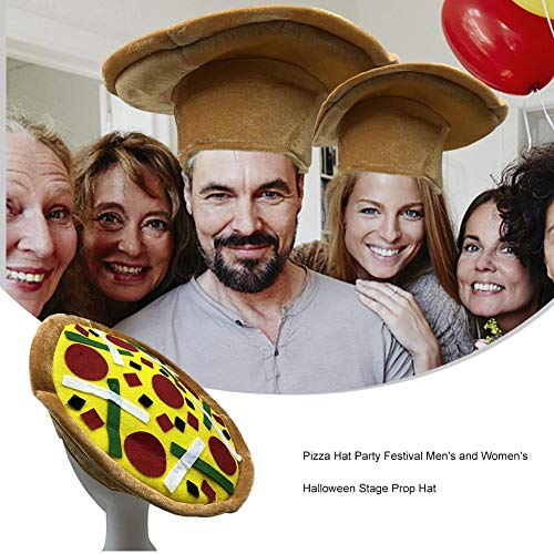zza Hut, Party Festival Bühne Prop Hüte, Essen Hüte, Pizza Hamburger Hot Dog Kostüm Party Dress up ()