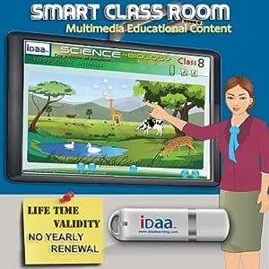 Idaa Smart School Classroom Multimedia Educational Content CBSE (USB Pen Drive)