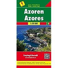Azoren, Autokarte, 1:50.000, besondere Ausflugsziele, freytag & berndt Auto + Freizeitkarten