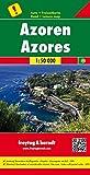 Azoren, Autokarte, 1:50.000, besondere Ausflugsziele, freytag & berndt Auto + Freizeitkarten: Toeristische wegenkaart 1:50 000 - Freytag-Berndt und Artaria KG