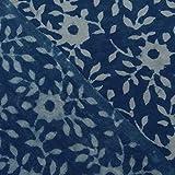handicraftofpinkcity Indigo Blau Gemüse gefärbt Hand