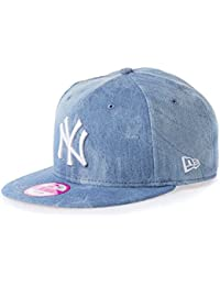 New Era Femme Casquettes / Snapback Sum Wash Snap Ney York Yankees 9Fifty bleu Taille unique