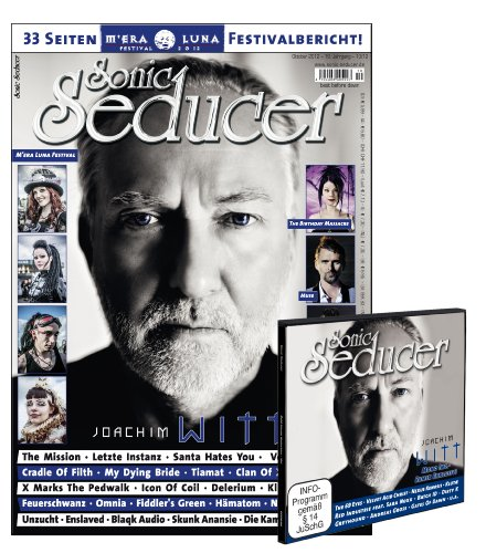 Sonic Seducer 10-12 inkl. großem M'Era Luna-Special (33 Seiten) + CD-Beilage, Bands: Joachim Witt (Titel), Letzte Instanz, The 69 Eyes, Muse, In Strict Confidence, Oomph, Fiddler`s Green u.v.m.