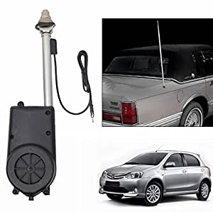 Speedwav Automatic Rollup FM/AM Car Antenna-Toyota Etios Liva