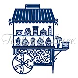 Tattered Lace Candy Cart, Silver for sale  Delivered anywhere in Ireland