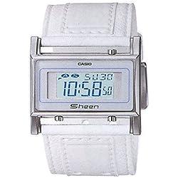 Casio Digital de la serie de las mujeres de la colección de reloj SHEEN Barcelet # SHN-1002L - 7A