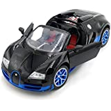 The Flyer's Bay Rechargeable Bugatti Style RC Car With Fully Function Doors (Bugatti Style Blue)