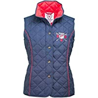 Toggi GBR Rio Ladies Quilted Gilet, Navy