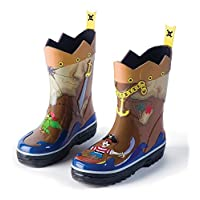 Kidorable Rain Boots (UK5, Pirate)
