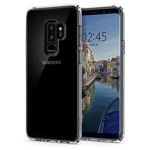 Coque Samsung Galaxy S9 Plus, Spigen [Ultra Hybrid] TRANSPARENTE Resistante, Protection Coins,...
