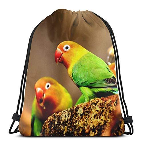 Cap pillow Birds Flight Hummingbird Cute and Small Custom Drawstring Shoulder Bags Gym Bag Travel Backpack Lightweight Gym for Man Women 16.9
