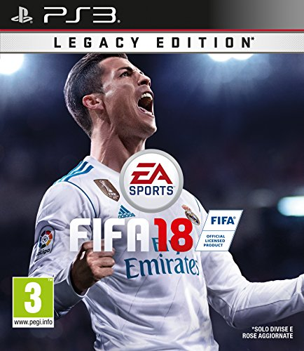 Fifa 18 - legacy edition - playstation 3