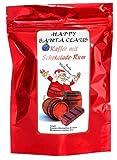 Aromakaffee - Aromatisierter Kaffee - Happy Santa Claus Schoko-Rum - Gemahlen 500g - Spitzenkaffee - Schonend Und Frisch In Eigener Rösterei Geröstet