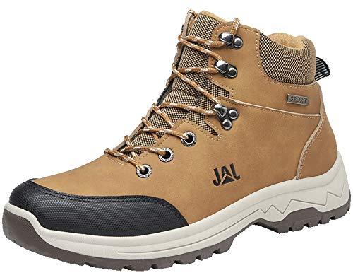 Brfash Scarpe da Escursionismo Uomo Arrampicata Sportive All'aperto Impermeabili Traspiranti Trekking Sneakers