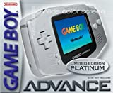 Gameboy Advance Konsole Platin -
