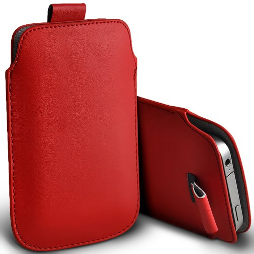 ( Yellow ) Apple iPhone 5s Protection simili cuir Pull Tab armoires Pochettes élégant Housse Etui En Fone-Case Tirette rouge