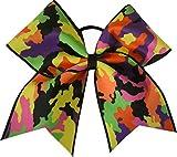 SBC-Neon-Camouflage-Camo-Cheer-Bow