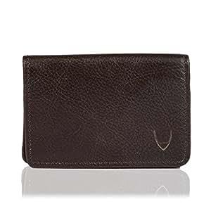 Hidesign 020-Brown Leather Card Holder Wallet