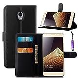 Vibe P1 (5.5 inch) hülle , Caseforyou® PU Leder Wallet