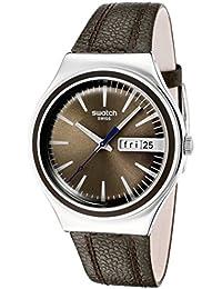 Swatch Reloj de cuarzo Man BROWN SUIT YGS748 38.0 mm