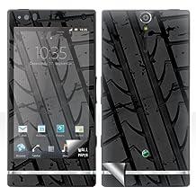 "'Sony Xperia S Lt26i Skin ""Neumáticos Pegatinas Funda Protector de pantalla adhesivo"