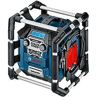 Bosch Professional GML 20 Radio, Negro, Azul, Gris, Rojo