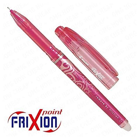 - Frixion Point Roller effaçable-Pointe Ultra Fine - 1 personne-Rose