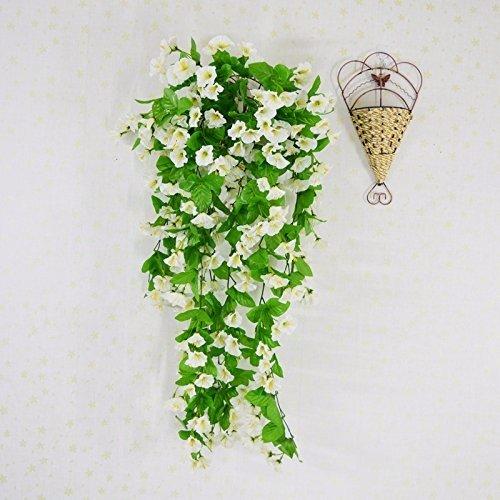 Meili flower vasi di piante e fiori utilizzati per decorare l'emulazione emulazione niou fiore fiore a muro rattan soffitto, terrazza sul tetto cesto fiori soggiorno.