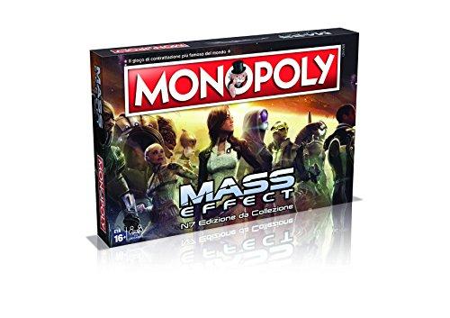 Winning Moves 29292-Mass Effect Juegos Mesa-Monopoly