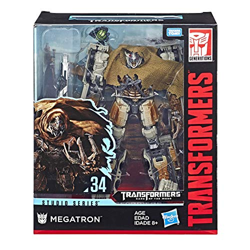 Transformers Studio Series - Robot Leader Megatron Camion - 30cm - Jouet transformable 2 en 1