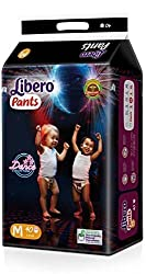 Libero Diaper Pants small Size (48 Pieces), (Medium)