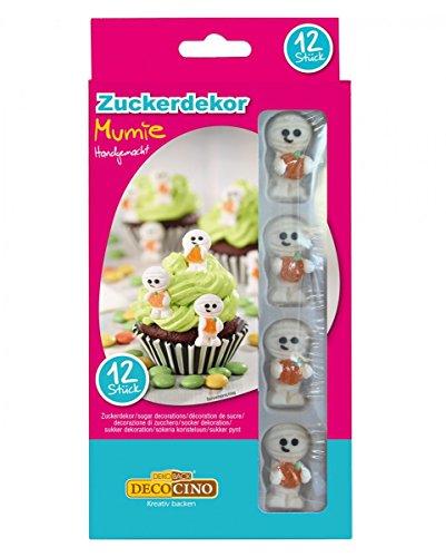 re Mumien mit Kürbis als Dekoration für Muffins & Torten ()