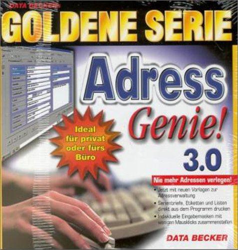 Goldene Serie AdressGenie 3.0. CD- ROM für Windows 95/98 -