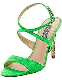 SJP by Sarah Jessica Parker Women's Elektra Ankle Strap Sandals