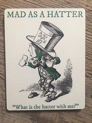 Mad Hatter Films - Alice im Wunderland Film Buch Zitat-Mad
