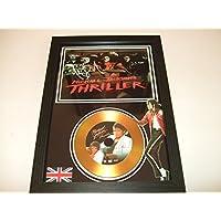 Michael Jackson dédicacé disque d'or