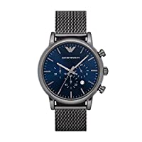 Emporio Armani Dress Watch Analog Display Quartz for Men AR1979