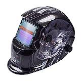 Tiptiper Oscurecimiento del casco de soldadura, oscurecimiento automático de la máscara del casco de soldadura Protección UV Protección IR