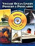Vintage Ocean Liners Posters and Postcards (Dover Electronic Clip Art)