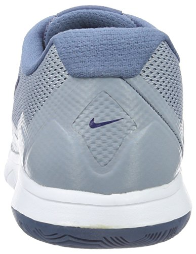Nike Herren Flex Experience Rn 4 Laufschuhe Grau (Bl Grey/Dp Ryl Bl-Ocn Fg-White)