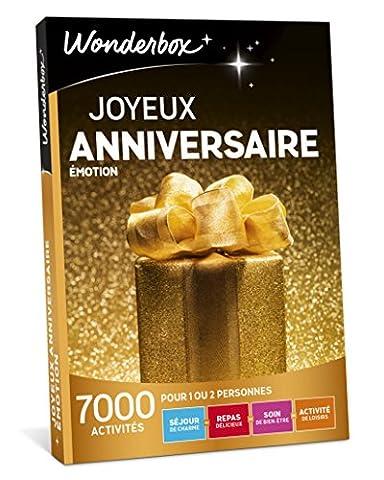 WONDERBOX - Coffret cadeau - JOYEUX ANNIVERSAIRE -