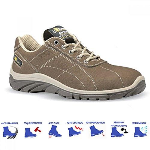 Upower - Chaussures de sécurité RAJAS S3 src Beige