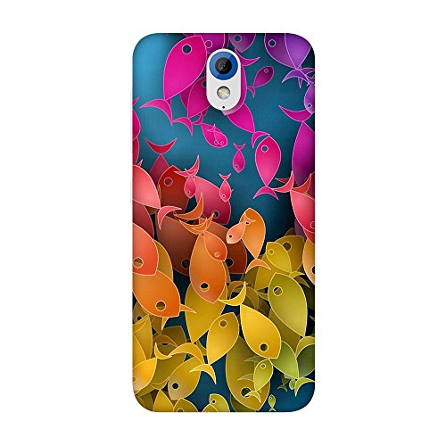FASHEEN Premium Designer Soft Case Back Cover for HTC Desire 620G