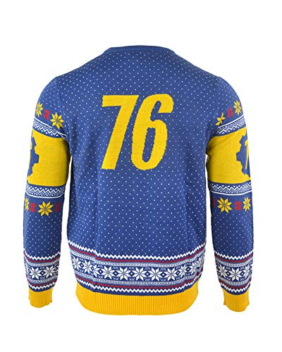 Fallout 76 Christmas Jumper Ugly Sweater for Men Women Boys and Girls