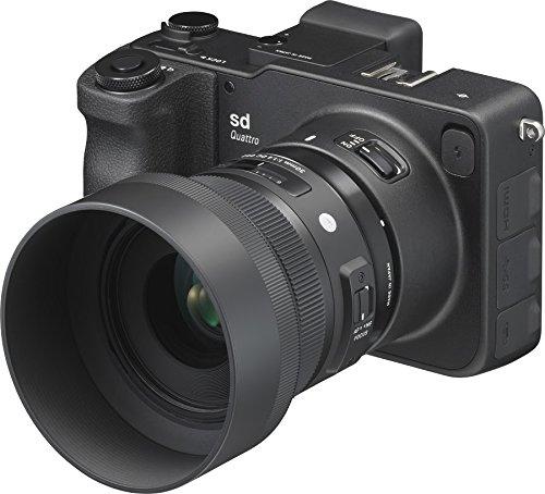 Sigma SD Quattro - Spiegellose Systemkamera Kit inkl. 30mm f/1.4 DC HSM, schwarz