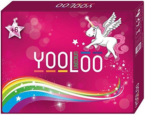 YOOLOO Unicorn - Das coole Kartenspiel für Kinder, Eltern und Einhorn Freunde (2 bis 8 Personen, 2 (Für Kostüme Familie 6)