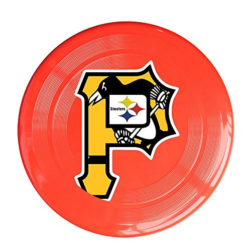 yque56 Unisex Pittsburgh Sport Team Logo gemischt Outdoor Spiel, Sport, Fliegen Scheiben, Spiel Raum, Light Flying, Scheibe, Flyer Frisbee, Ultra Star Gelb One Size, unisex, rot