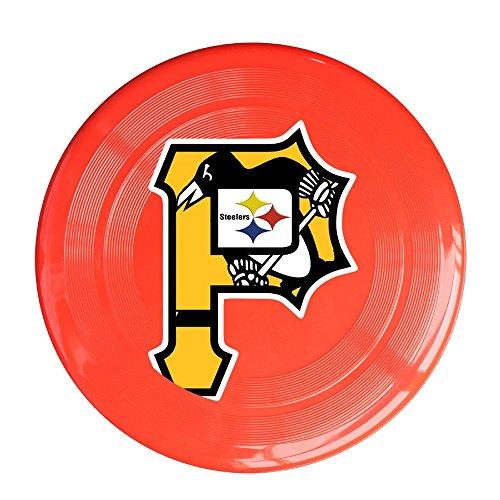 yque56Unisex Pittsburgh Sport Team Logo gemischt Outdoor Spiel, Sport, Fliegen Scheiben, Spiel Raum, Light Flying, Scheibe, Flyer Frisbee, Ultra Star Gelb One Size, unisex, rot