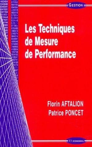 Les Techniques de mesure de performance