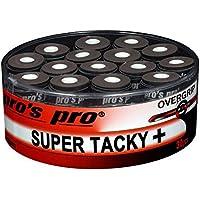 30 Overgrip Super Tacky Tape negro tenis grips Cinta para mango de raqueta de tenis